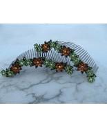 Green Peridot Citrine Swarovski Crystal Pair of... - $34.00