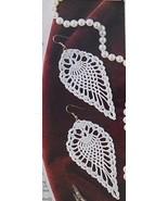 Annie's Pineapple Earrings crochet pattern - $2.95