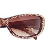 Sunglasses Light Golden Topaz Austrian Crystal ... - $37.99