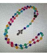Colorful Rosary (Prayer) Beads - $20.00