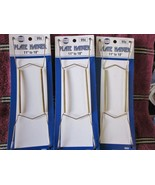 Three Collectible Plate Hangers NIP  11 to 16 i... - $8.99
