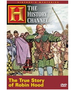 True Story of Robin Hood DVD History Channel  - $5.99