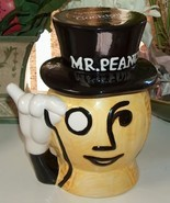 Planters Mr Peanut Head Ceramic Cookie Jar - $45.00
