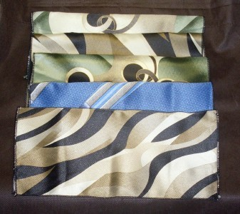 Mens Print Suit Pocket Hanky 10 X 10  Lot of 5