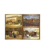 Postal Diligences. 4 Cards by Famous Danish 18t... - $10.00