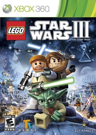 LEGO Star Wars III {3}: The Clone Wars, xbox 360 game