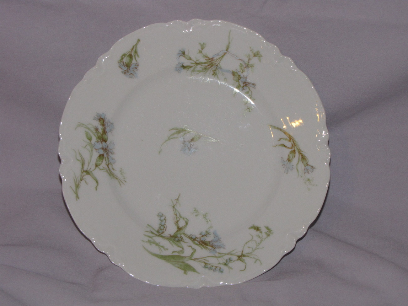 Hu0026Co L France/Haviland u0026 Co. Limoges Dinner Plate - Haviland