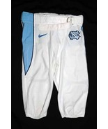UNC TARHEEL GAME USED FOOTBALL PANTS WHITE Size... - $45.00