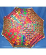 10 Traditional Indian Big UMBRELLAS wholesale lot India free shipping