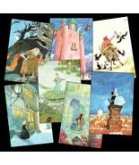 7 Pretty Cards w/ Hans Christian Andersen's Fai... - $15.75