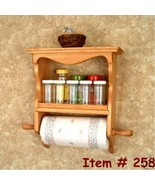 Spice Rack  Paper Towel Holder    - $49.95