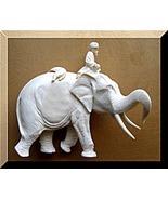 Indian Elephant Mahout Maharajah Hunter Lion Tr... - $749.75