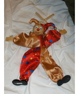 Court Jester Marionette Clown Puppet - $10.00