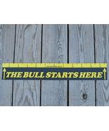 The Bull Starts Here Dart Throw Line Marker FRE... - $5.95