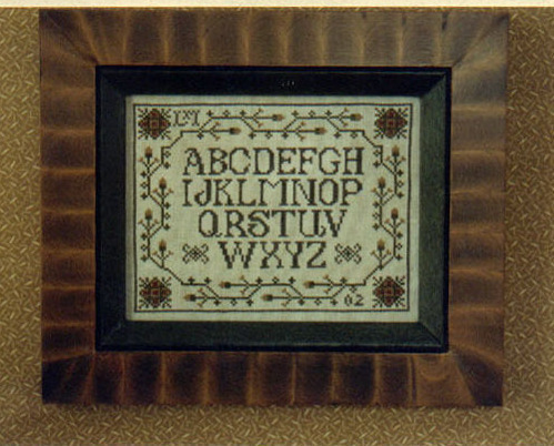 Cotton Candy Alphabet 19 Cross Stitch Design