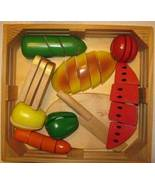 Melissa and Doug Pretend Play Food Set Lot