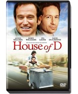 House of D WS Special Ed DVD David Duchovny Robin Williams  - $6.95
