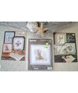 Vintage Janlynn Cross Stitch Kit & Books Musical Instruments - $13.95