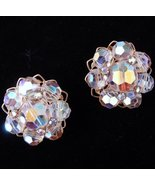 Vintage ALICE CAVINESS Crystal Earrings - $32.95