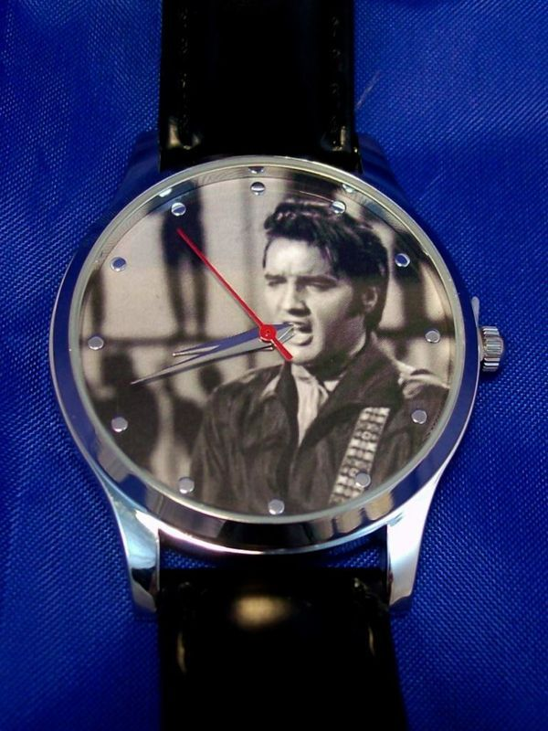 Elvis Presley  Watch King of Rock Face New Mans