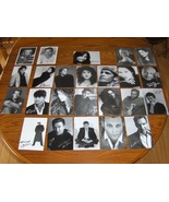 24 Autographed Pictures of Movie Stars - $10.00