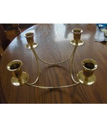 Partylite Brass Quartet Candle Holder - $14.00