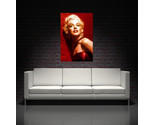 Buy Posters - Marilyn Monroe Red Canvas Art Print