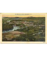 Birds Eye of Binghamton New York Vintage 1953 P... - $2.00