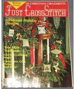 Just Cross Stitch magazine December 1989 - CHRI... - $5.00