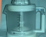 Buy Juicers  - WHITE WESTINGHOUSE ELECTRIC JUICER