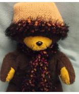 Retro Ladies Handknit Hat  Scarf Set Jungle Fev... - $9.50