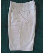 Old Navy Boys Pleated Front Khaki Shorts Cotton... - $11.00