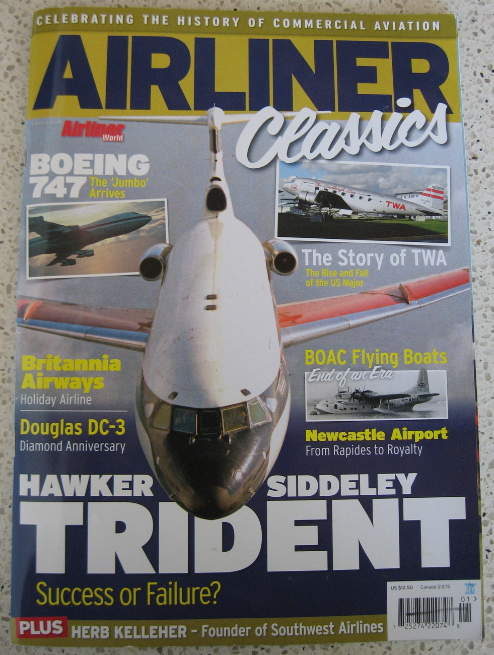 Airliner Classics Volume 2 Magazine Airliner 2010 World Boeing 747 Story of TWA