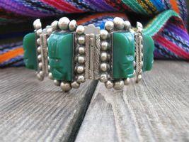 Vintage Mexico sterling silver Art Deco bracele... - $180.00