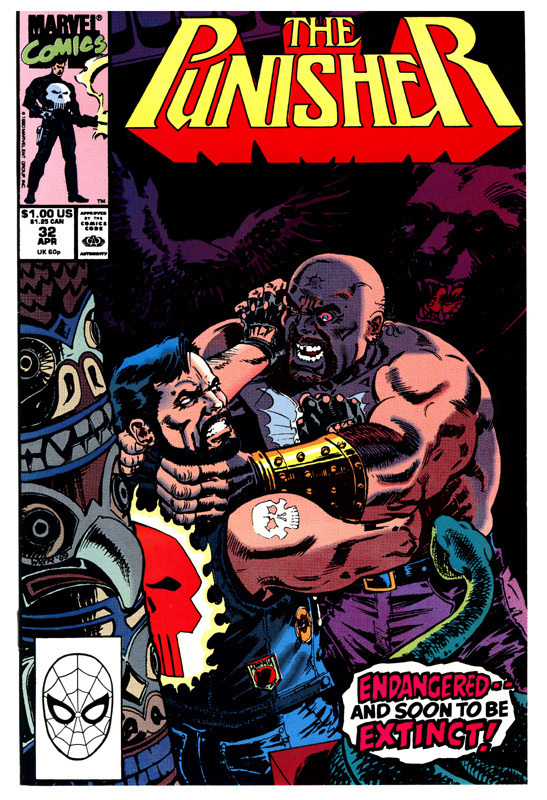 The Punisher #32, April 1990, EASILY 9.2+