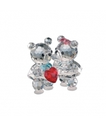 Preciosa Crystal Baby Bears with Heart, New in Box - $45.00