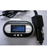 Fm Transmitter USB Port Car Adapter with Temper... - $7.39