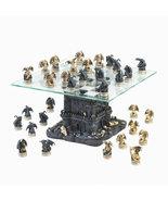 Black Tower DRAGON CHESS SET  glass chess board  - $119.89