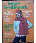 Budget Needlework Magazine, March1972 V1 No3 St... - $4.50