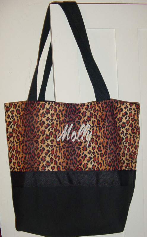 Wild Leopard Cheetah Animal bag Purse -Tote