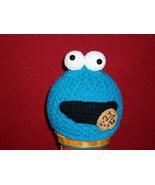 Crochet Sesame Street Cookie Monster Hat Beanie... - $25.00