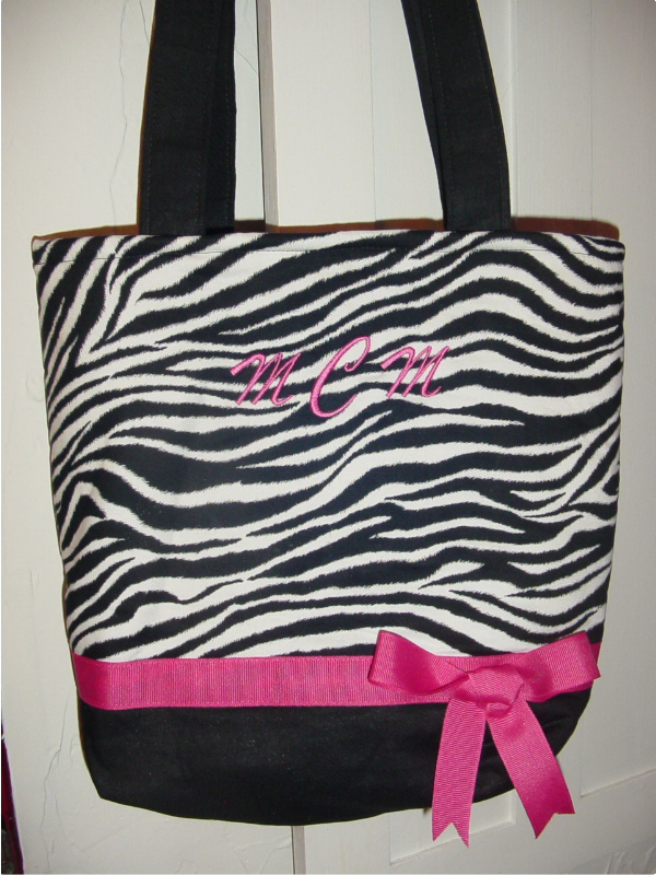 Wild Animal Zebra Safari Modern BAG Purse -Tote