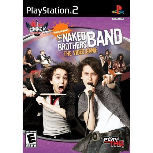 Naked Brothers Band Playstation 2 THQ 2008