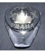 Commemorative Crystal Art Glass Vase/Paperweigh... - $65.00