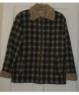 Vintage Women's Woolrich Plaid Quilted Jacket S... - $33.50