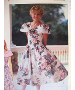 Butterick 5340 Vintage 80s Pattern Girls 12 Jr ... - $6.95