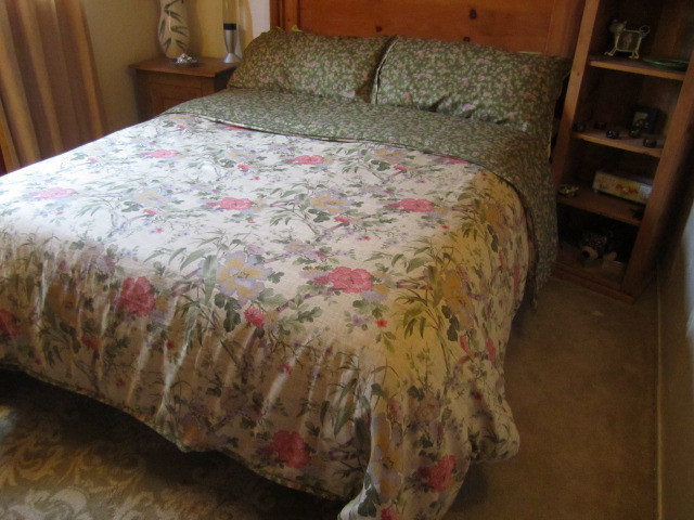 Botanical Linen Duvet Cover & Pillow Shams