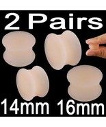 9/16 5/8 14mm 16mm Gauge Skin Ear Plugs Rings L... - $6.99