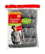 Hanes - Men's ComfortSoft Pocket Tees, 4-Pack T... - $27.71 - $29.69