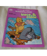 Winnie the Pooh Trace and Color  Book - $5.00